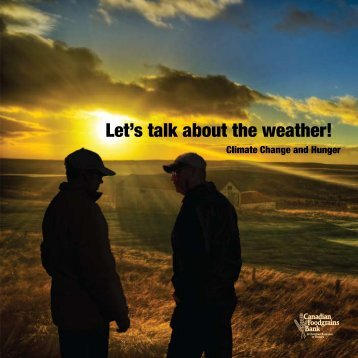 Let's talk about the weather! - Canadian Foodgrains Bank
