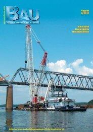 August 8/2012 August 8/2012 Baustoffe Bauprojekte Baumaschinen ...