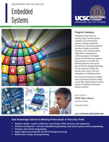 Embedded Systems - UCSC Extension Silicon Valley
