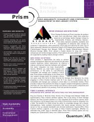 Prism Storage Architecture - Unylogix Technologies Inc.