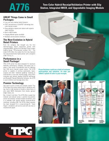 Spec Sheet - Barcoding, Inc