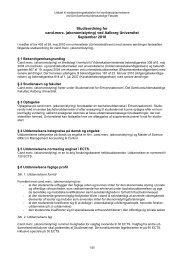 Cand.merc.-linien i Økonomistyring, 2010 - Det ...