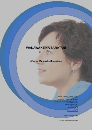 Wanawake na Saratani - Ishar Multicultural Women's Health Centre