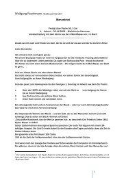 Die Predigt zum Abschied (30. November 2008) als PDF