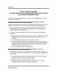 Policy 21 - Wolf Creek Public Schools