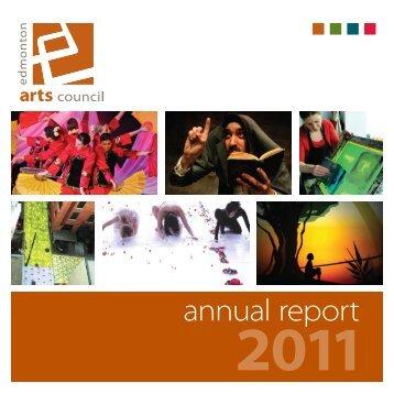 annual report - Edmonton Arts Council