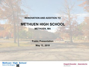 Renovation and Addition to Methuen High School