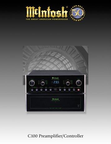 C100 Preamplifier/Controller