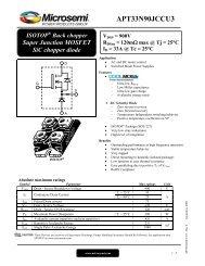 APT33N90JCCU3 - Richardson RFPD