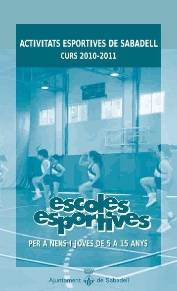 programa - Ajuntament de Sabadell