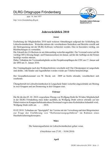 DLRG Ortsgruppe Fröndenberg