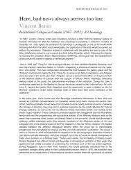 Institutional Critique in Canada (1967–2012): A ... - Bard College