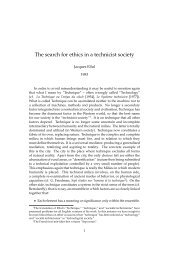 The search for ethics in a technicist society - Jesus Radicals