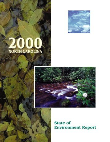 Environ Report Cover - NC Dept. of Environment and Natural ...