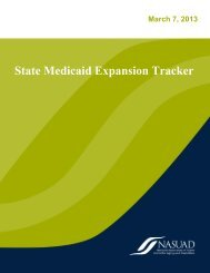 State Medicaid Expansion Tracker - National Association of States ...