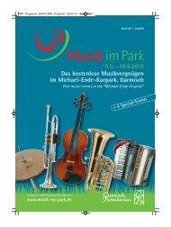 Das kostenlose Musikvergnügen im Michael-Ende ... - Musik im Park
