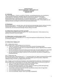 Bachelor i Samfundsøkonomi, 2007 - Det Samfundsvidenskabelige ...