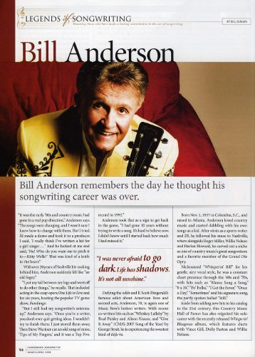 click here - Bill Anderson