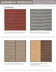 SHUTTER PLEAT - Andrew Morgan Collection