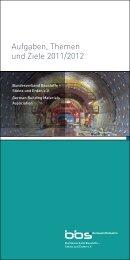 Aufgaben, Themen und Ziele 2011/2012 - Bundesverband Baustoffe ...