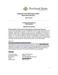 RFP #19204 Mass Email Solution.pdf - Oregon University System
