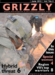 Grizzly June 2012 edition. - California National Guard - State of ...