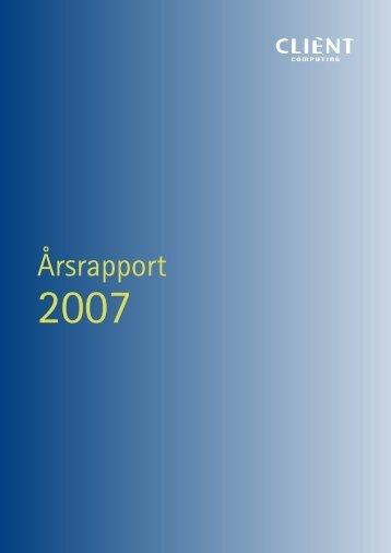 Årsrapport - Netfonds
