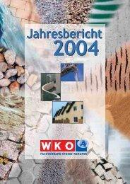 Jahresbericht 2004 - Fachverband der Stein- und keramischen ...