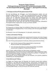 Prüfungsordnung zum Erwerb des ... - Deutscher Segler-Verband