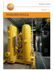 Monitoring residualne vlage do -90 °Ctd - Komplast doo