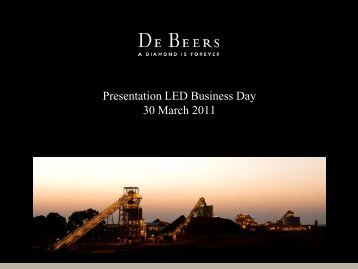 Diamonds and Brands - The South African LED Network