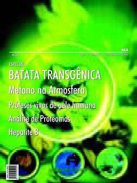BATATA TRANSGÊNICA BATATA TRANSGÊNICA - Biotecnologia