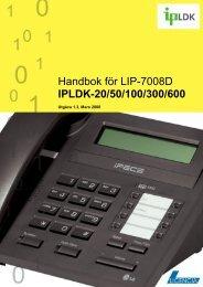 LIP-7008D - Licencia Telecom AB