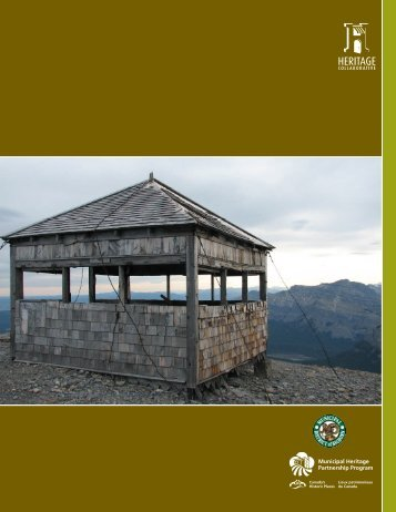 Final report & Table of Contents - Municipal District of Bighorn
