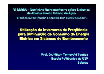 Utilização de Inversores de Freqüência para ... - LENHS UFPB