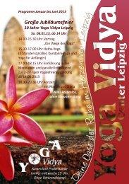 Große Jubiläumsfeier - Yoga Vidya