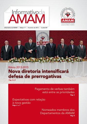 Edição do Mês deFevereiro/2013 - Amam