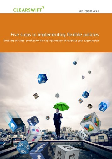 5 Steps to Flexible Policy - Clearswift