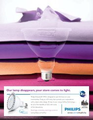 Our lamp disappears, your store comes to light - City Electric ...