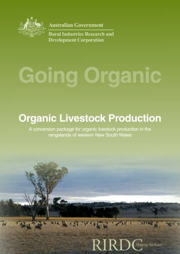 Organic Livestock Production - Bad Request