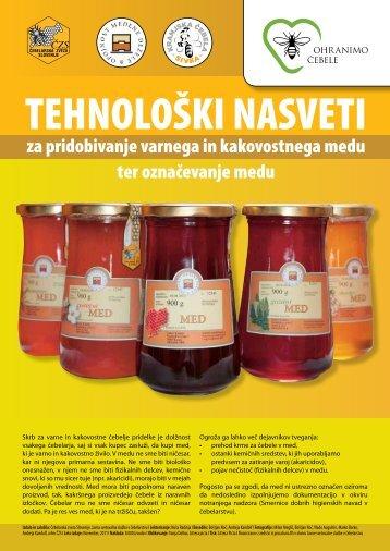 brošura - Čebelarska zveza Slovenije