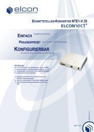 schnittstellen-konverter nte1-v.35 - Elcon Systemtechnik