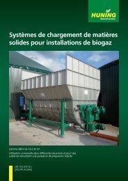 Systèmes de chargement de matières solides pour installations de ...
