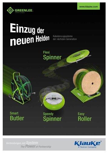 Butler Spinner Spinner Roller - Gustav Klauke GmbH