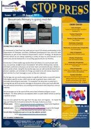 Issue: 27 29 August 2013 - Beaumaris Primary School