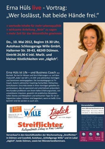 Streiflichter - Erna Hüls