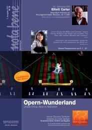 Opern-Wunderland