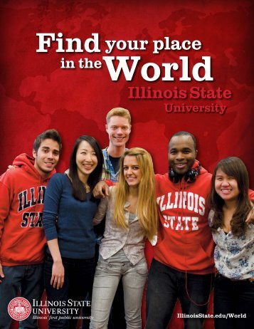 Findyour place - Admissions - Illinois State University