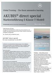 AKUBIS® direct special - Daimler