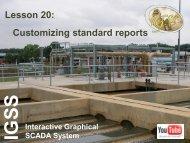 IGSSLesson 19: Customizing standard reports